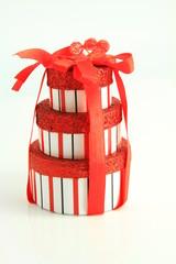 boites cadeaux rouge