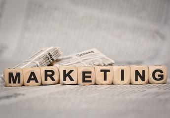 marketing- alte Zeitung