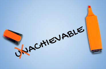 Unachievable word