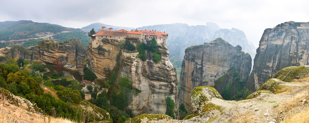 The monastery on the cliff