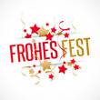 Frohe Festtage - Frohes Fest