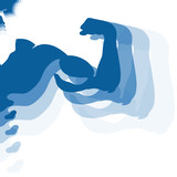 design for the gym, muscles