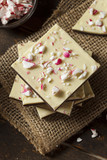 Homemade Christmas Peppermint Bark Dessert