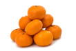 tangerines isolated