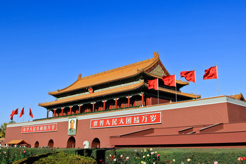 Forbidden City Landmark in Beijing China
