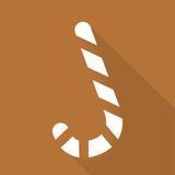 Candy cane web icon