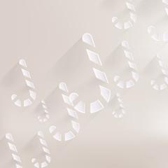 Candy cane web icon
