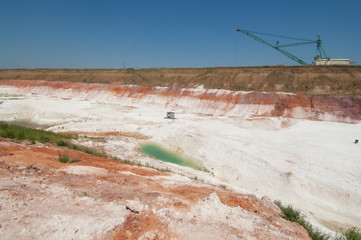 industrial quarry