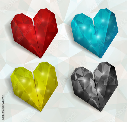 Vector heart. Valentines day. Illustration, EPS 10