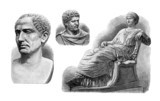 Ancient Rome : Emperors & Empress - Sculptures