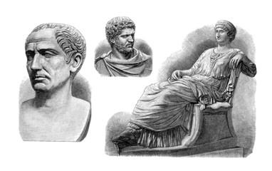 Ancient Rome : Emperors & Empress - Sculptures