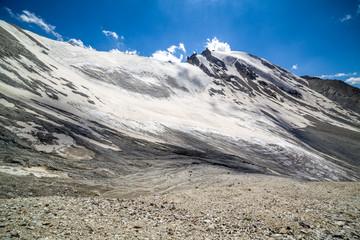 View from Kok-Airyk pass. Tien Shan, Kyrgyzstan
