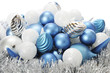 Frost-Colored Christmas Bulbs