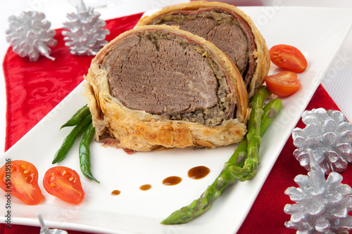 "Beef Wellington for Christmas"" Stock photo and royalty-free images on ..."