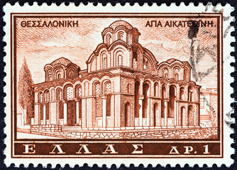 Agia Aikaterini church, Thessalonica (Greece 1961)
