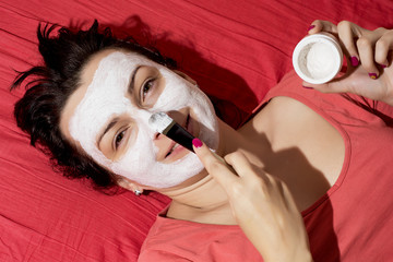Female face care