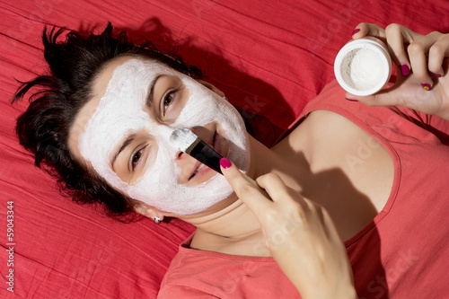 Female face care