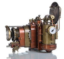 Copper Photo camera.
