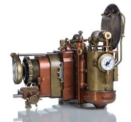Copper Photo camera.