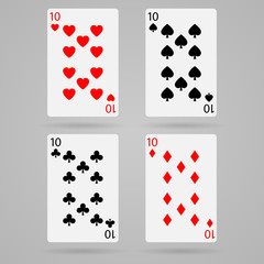 Vector ten cards