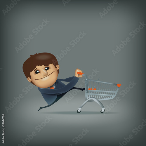 Shopping. Vector format