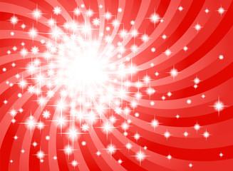 abstrakter roter Sternen Hintergrund