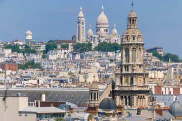 The Basilica of the Sacred Heart in Paris
