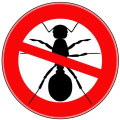 вектор стоп насекомые