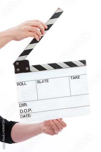 Hands Holder Film Slate