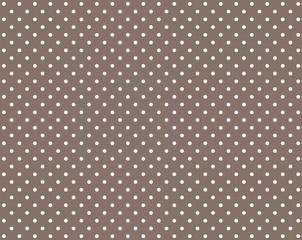Brauner Hintergrund mit weißen Punkten