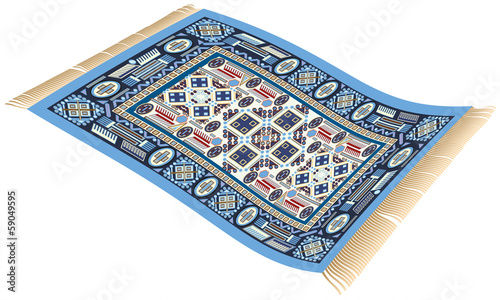 Magic Carpet Blue - 59049595