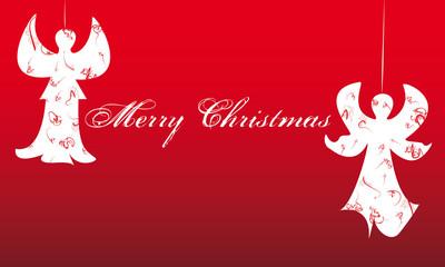 Angeli decorati di buon augurio per Natale