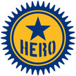 Hero Stamp Logo