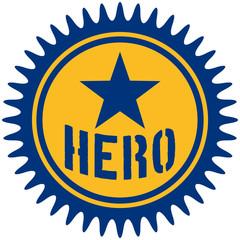 Hero Stamp Logo