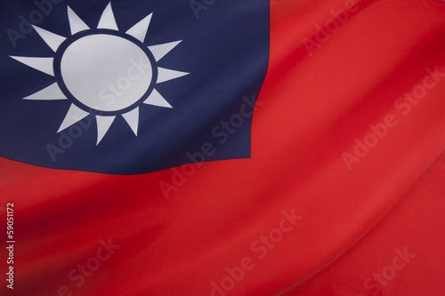 The Flag of the Republic of China - Taiwan