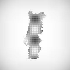 Portugal Karte Punkte