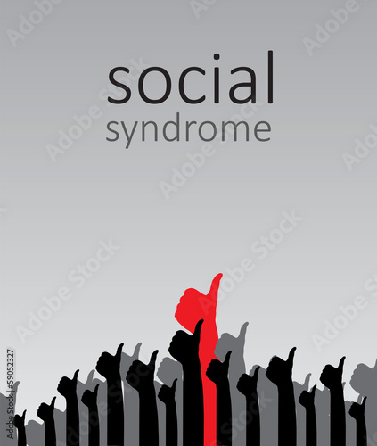 Social syndrome, vector
