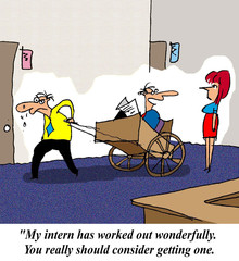 You should get an intern