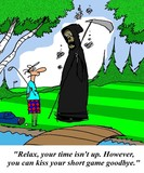 Death on the golf course