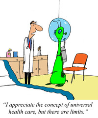Doctor does not want to treat an alien