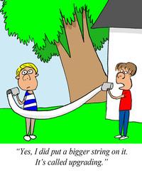 Bigger string