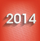 happy new year 2014 rouge