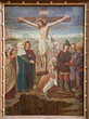 Gent - Crucifixion paint from st. Peter s church