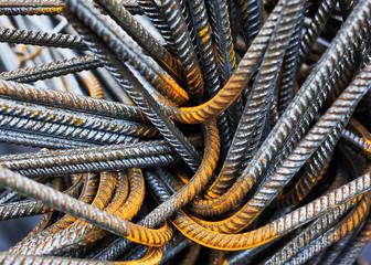 Baustahl Eisen Armierung Material