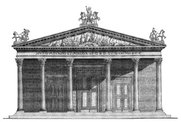 Ancient Rome : Jupiter's Temple