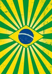 Brazilian sunbeams poster.