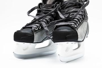 modern black skates