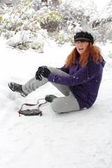 Unfallgefahr bei Schneeglätte