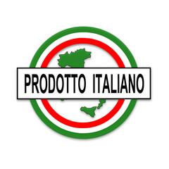 prodotto italiano, bottone