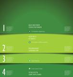 Modern green design template